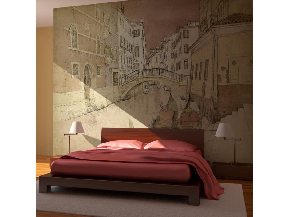 Papier peint  Gondolas in Venice