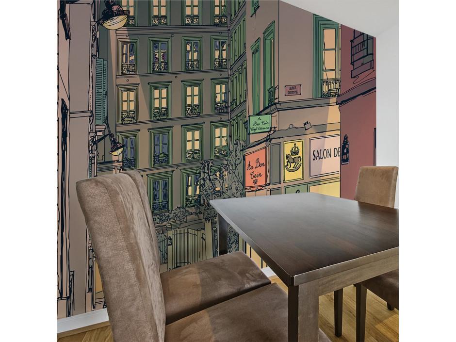 Papier peint - Breakfast in Paris