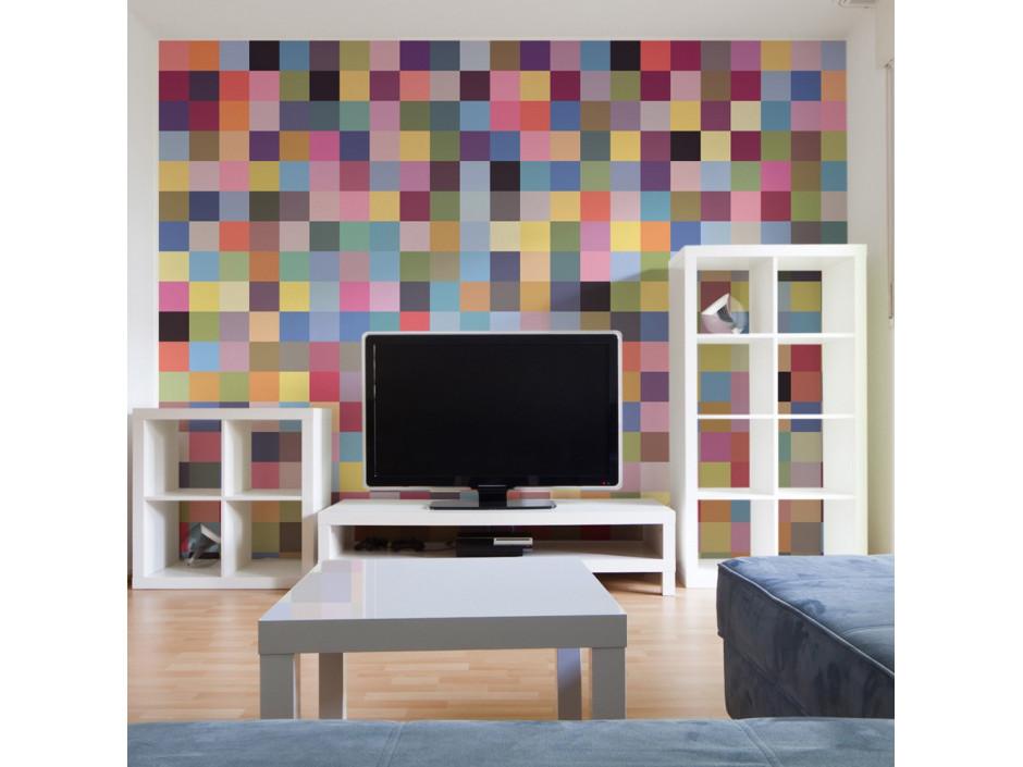 Papier peint  Palette complète de couleurs