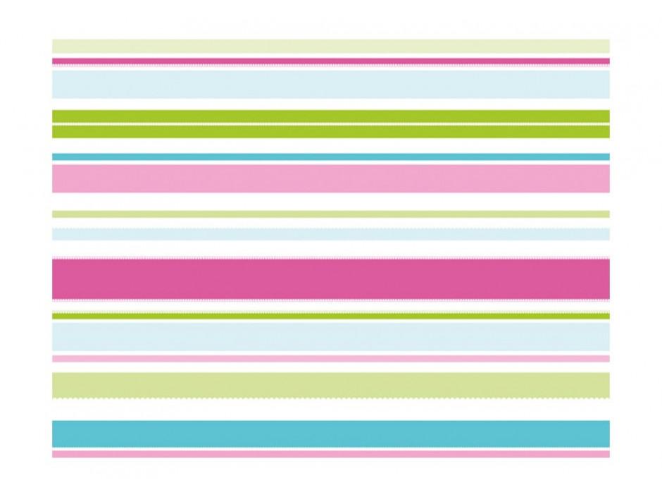 Papier peint  Rayures pastels