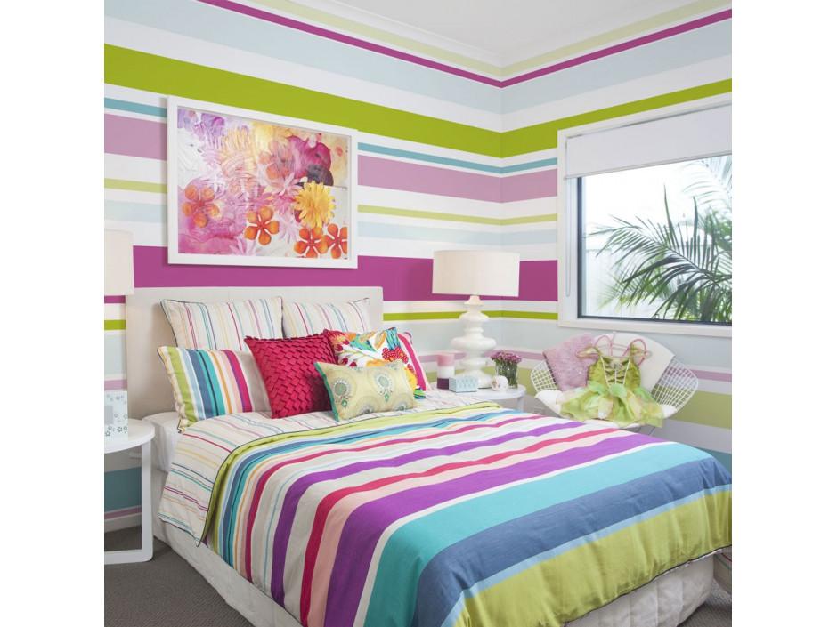 Papier peint  Bright stripes