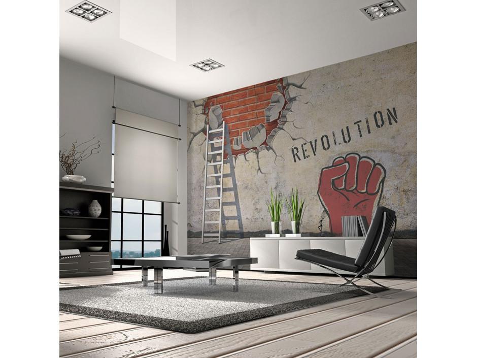 Papier peint  La main invisible de la révolution