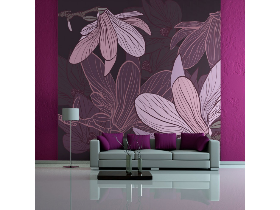 Papier peint - Dreamy flowers