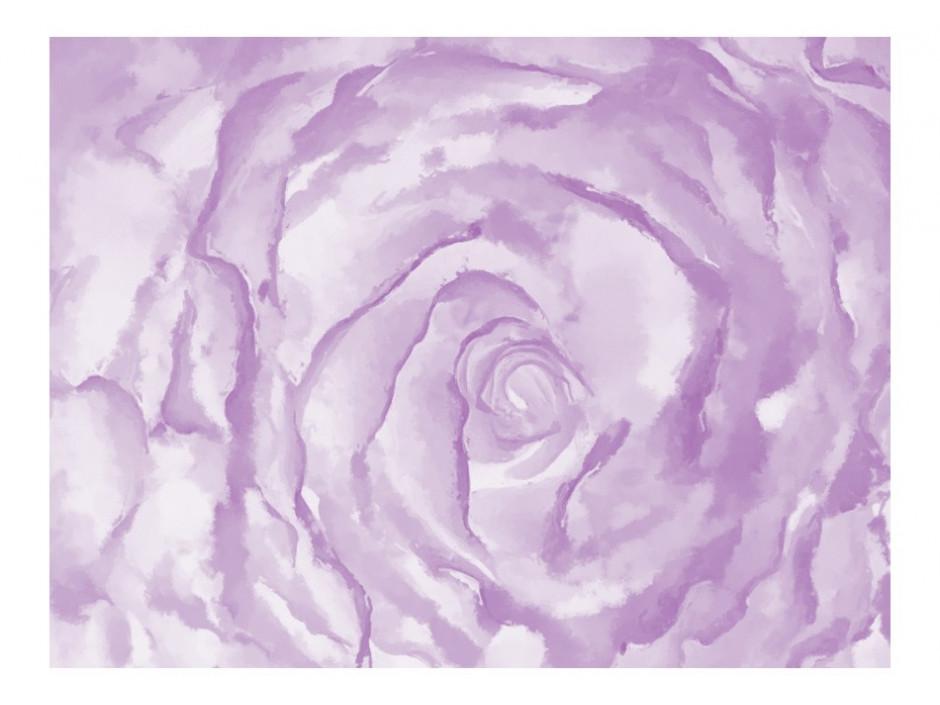 Papier peint  rose (rose)