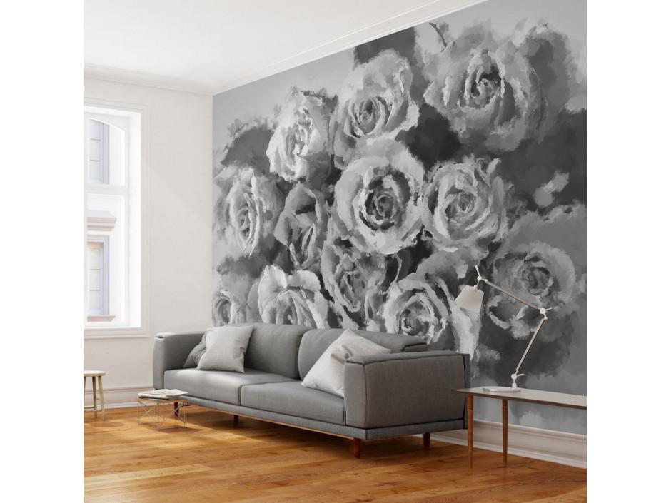 Papier peint  A dozen roses
