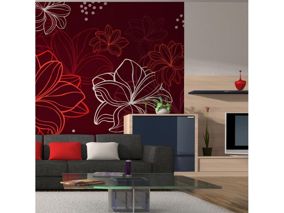 Papier peint  Vernal flora