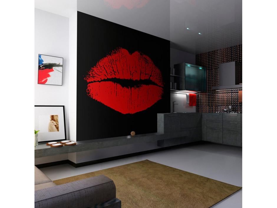 Papier peint  Sensual lips