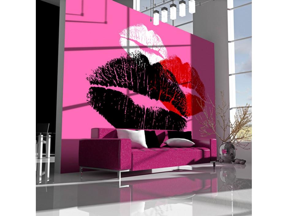 Papier peint Trois baisers