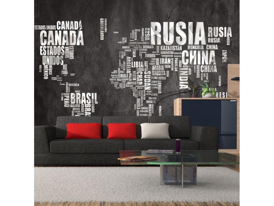 Papier peint  Spanish geography