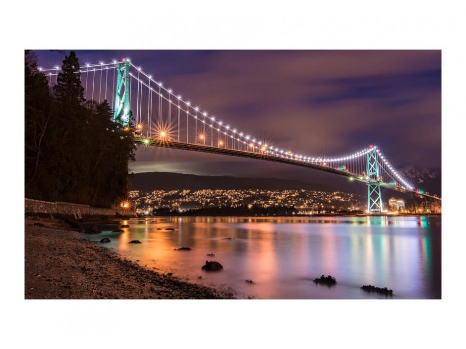 Papier peint  Lions Gate Bridge  Vancouver (Canada)