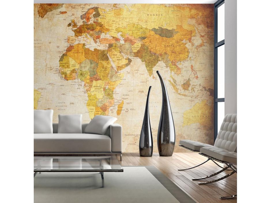 Papier peint  Old globe