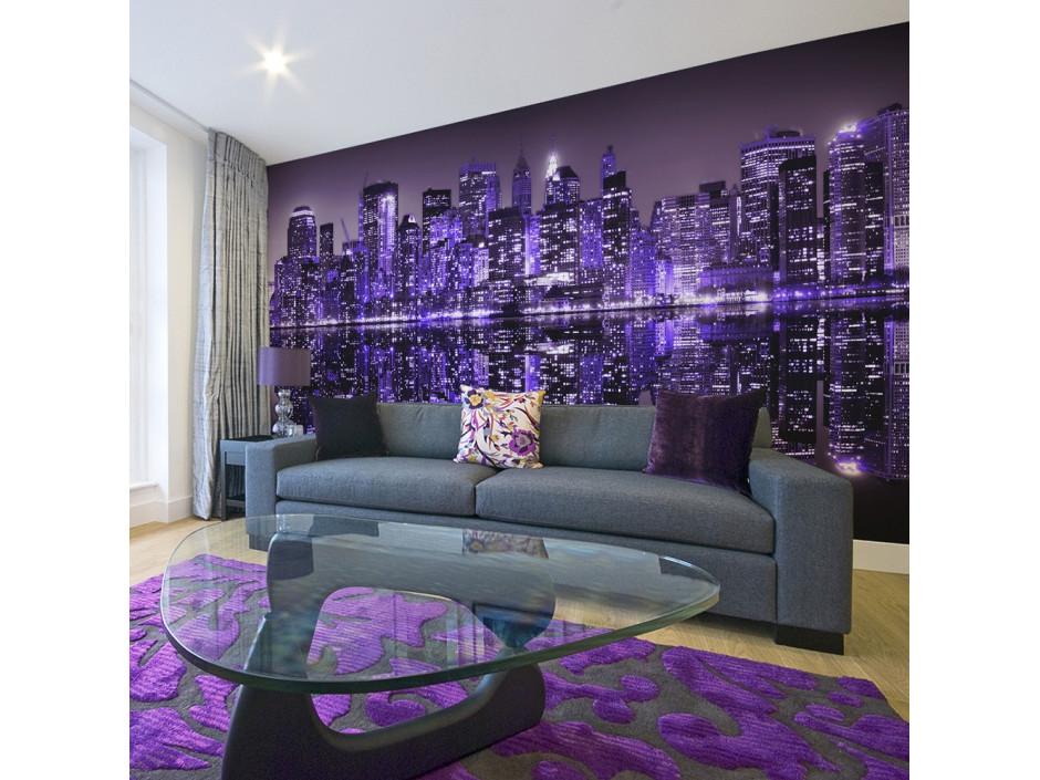 Papier peint XXL American violet
