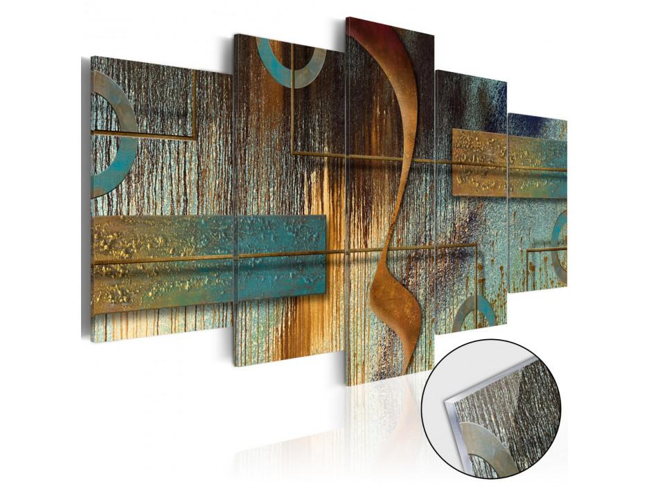 Tableau sur verre acrylique  Exotic Note [Glass]