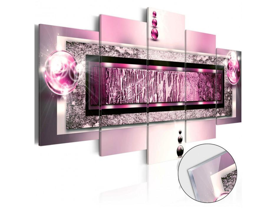 Tableau sur verre acrylique  Cyclamen Dream [Glass]