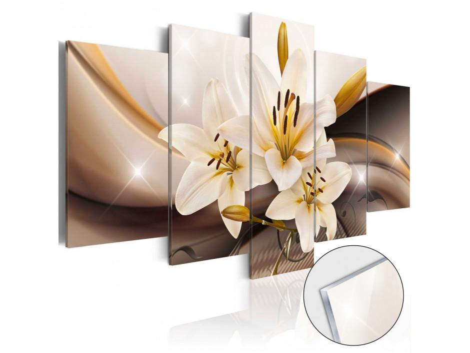 Tableau sur verre acrylique  Shiny Lily [Glass]