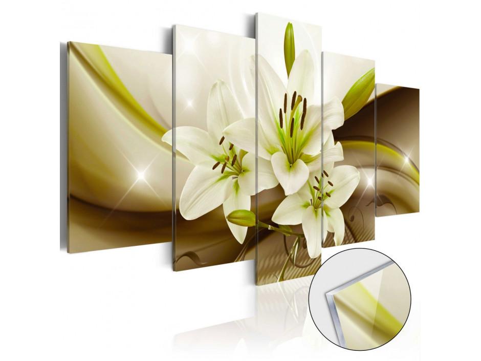 Tableau sur verre acrylique  Modern Lily [Glass]