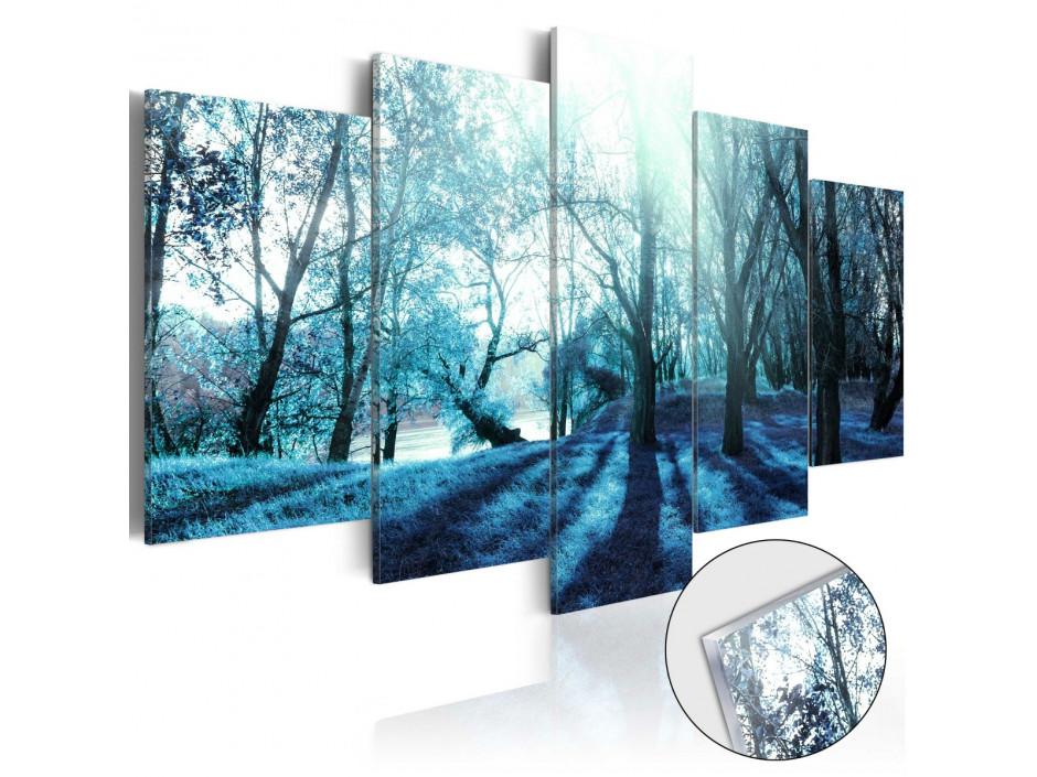 Tableau sur verre acrylique  Blue Glade [Glass]