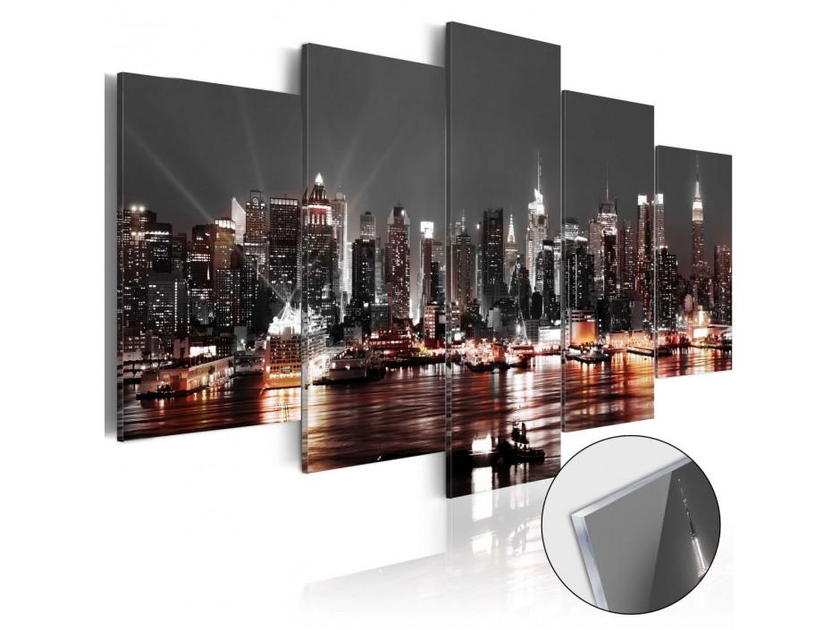 Tableau sur verre acrylique  Gray City [Glass]