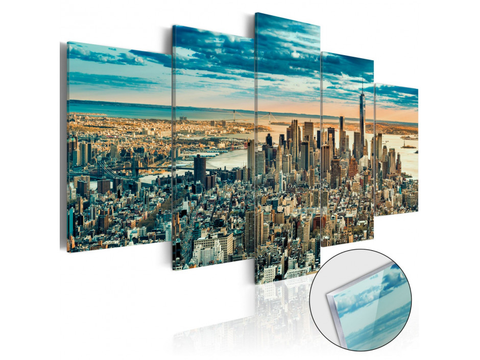 Tableau sur verre acrylique  NY Dream City [Glass]
