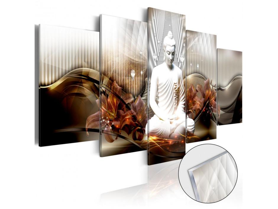 Tableau sur verre acrylique  Crystal Calm [Glass]