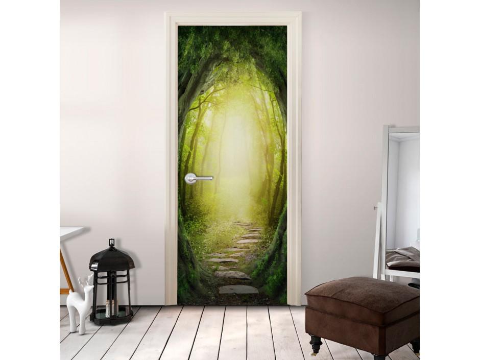 Papierpeint pour porte  The Forest of Fantasy