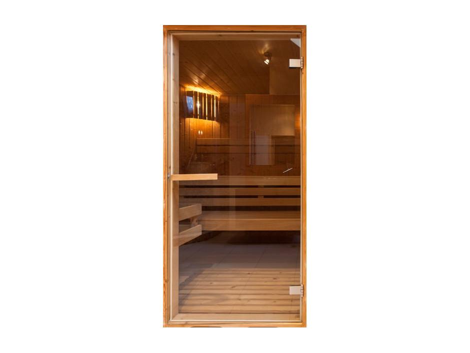 Papierpeint pour porte  Sauna