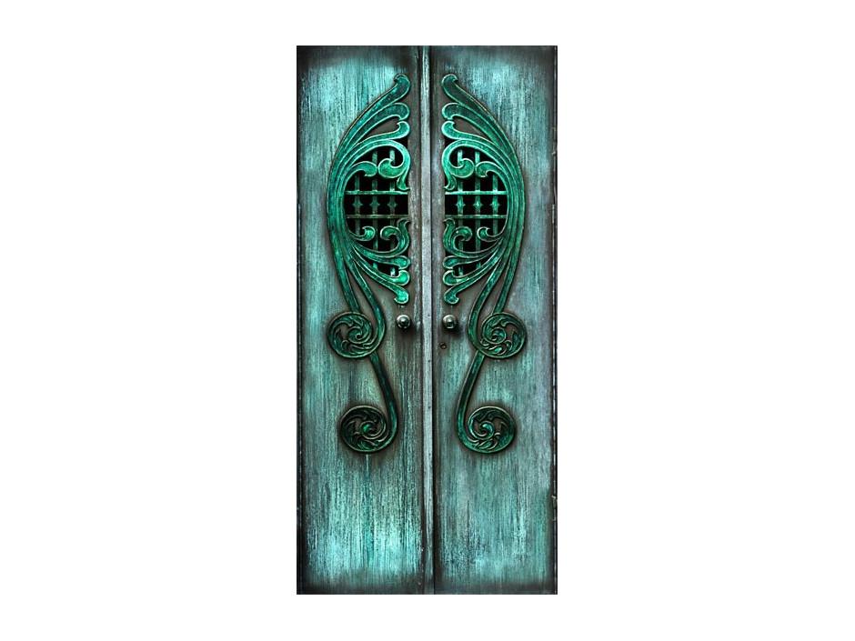 Papierpeint pour porte  Emerald Gates