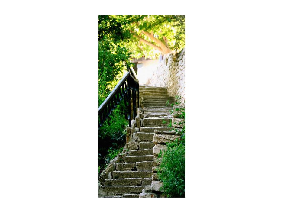 Papierpeint pour porte  Stony Stairs