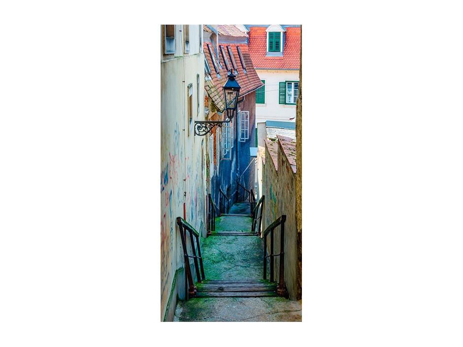 Papierpeint pour porte  Croatian Alley