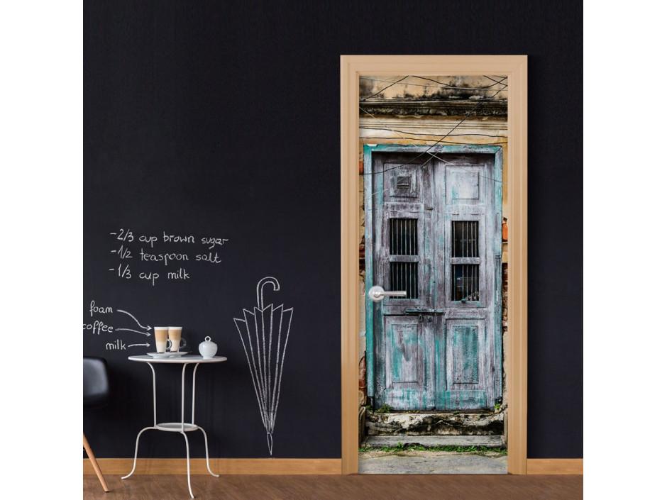 Papier-peint pour porte - Old Door