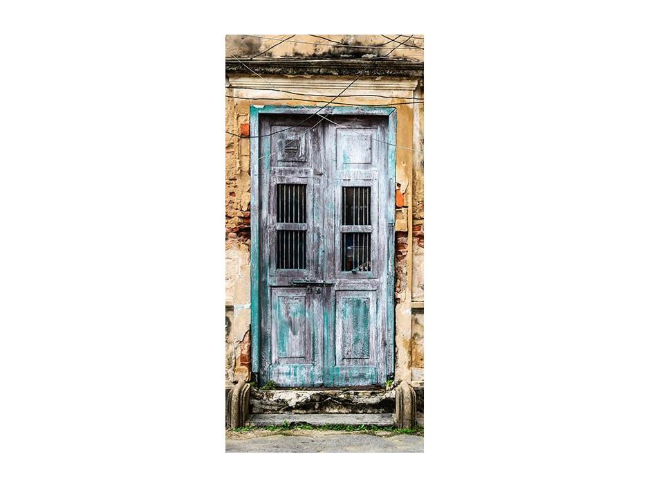 Papierpeint pour porte  Old Door