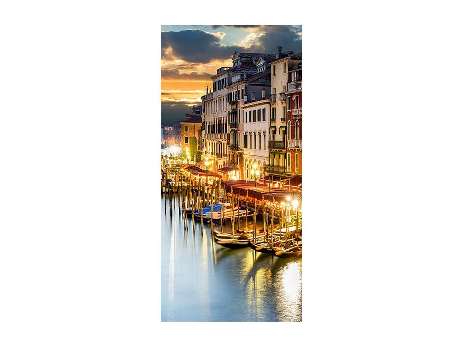 Papierpeint pour porte  Venetian Harbour