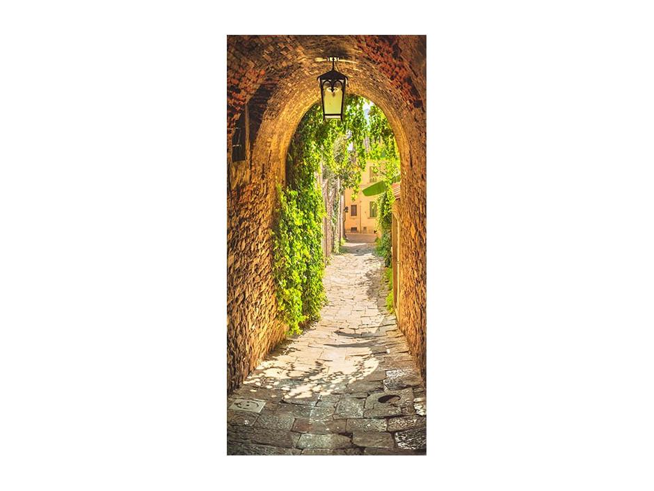 Papierpeint pour porte  Alley in Italy