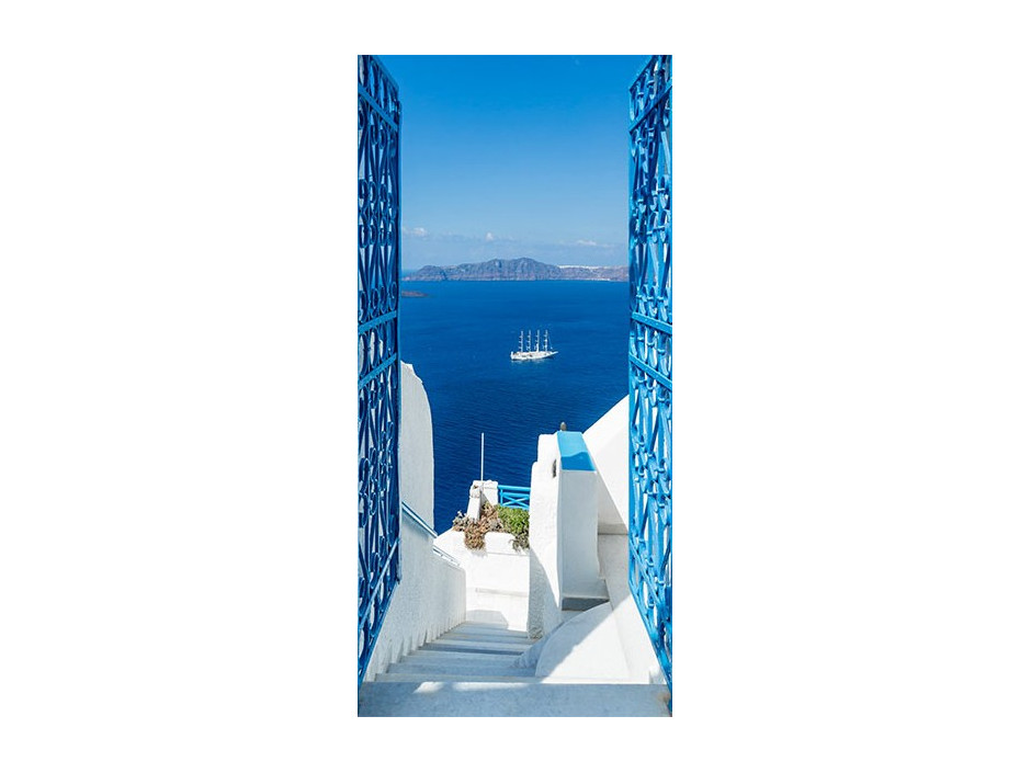 Papierpeint pour porte  Holidays in Greece