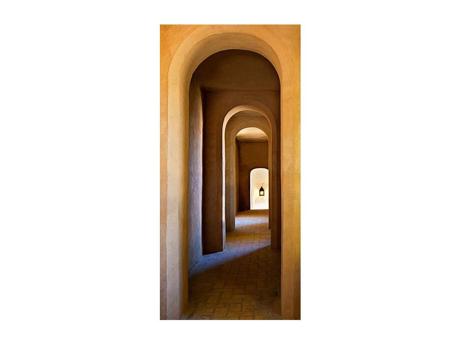 Papierpeint pour porte  Old Monastery