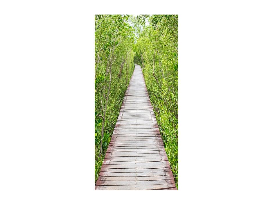 Papierpeint pour porte  The Path of Nature