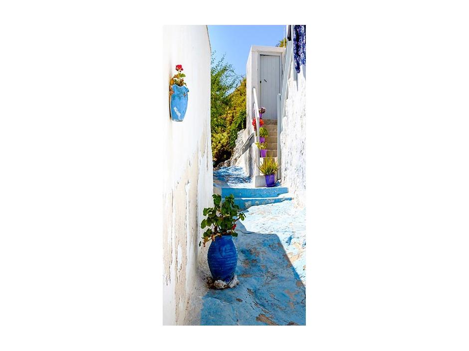 Papierpeint pour porte  Blue Alley