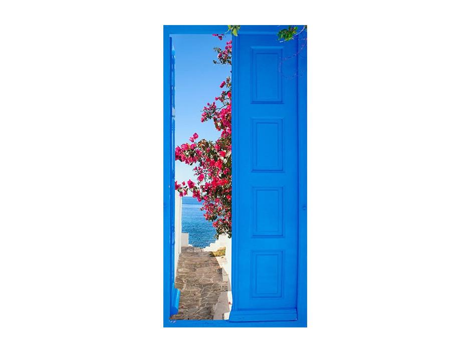 Papierpeint pour porte  Door into Summer