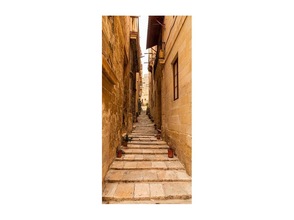 Papierpeint pour porte  Photo wallpaper – Narrow alley I