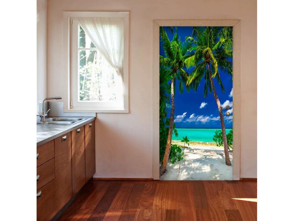 Papierpeint pour porte  Photo wallpaper  Island, beach I