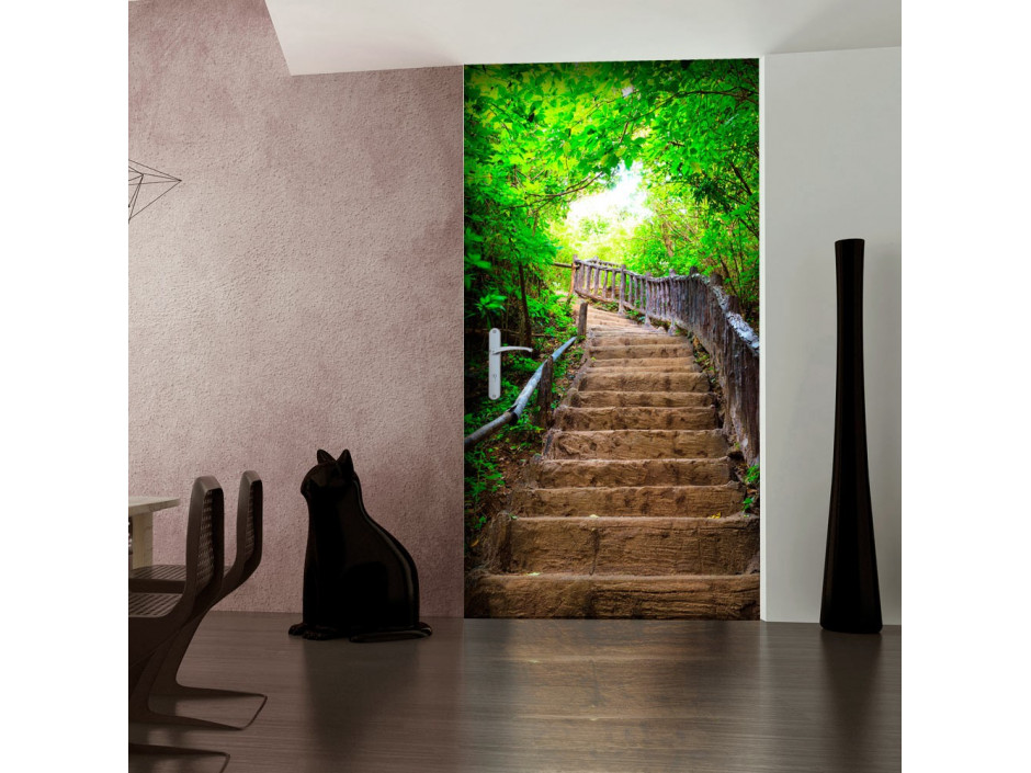 Papierpeint pour porte  Photo wallpaper – Stairs from nature I