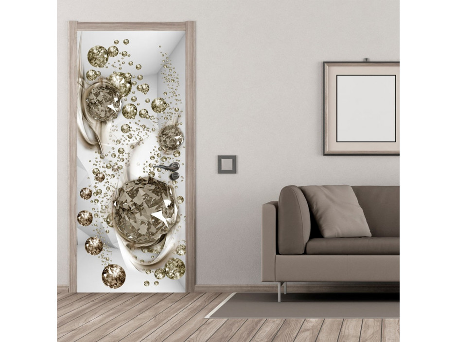 Papierpeint pour porte  Photo wallpaper  Bubble abstraction I