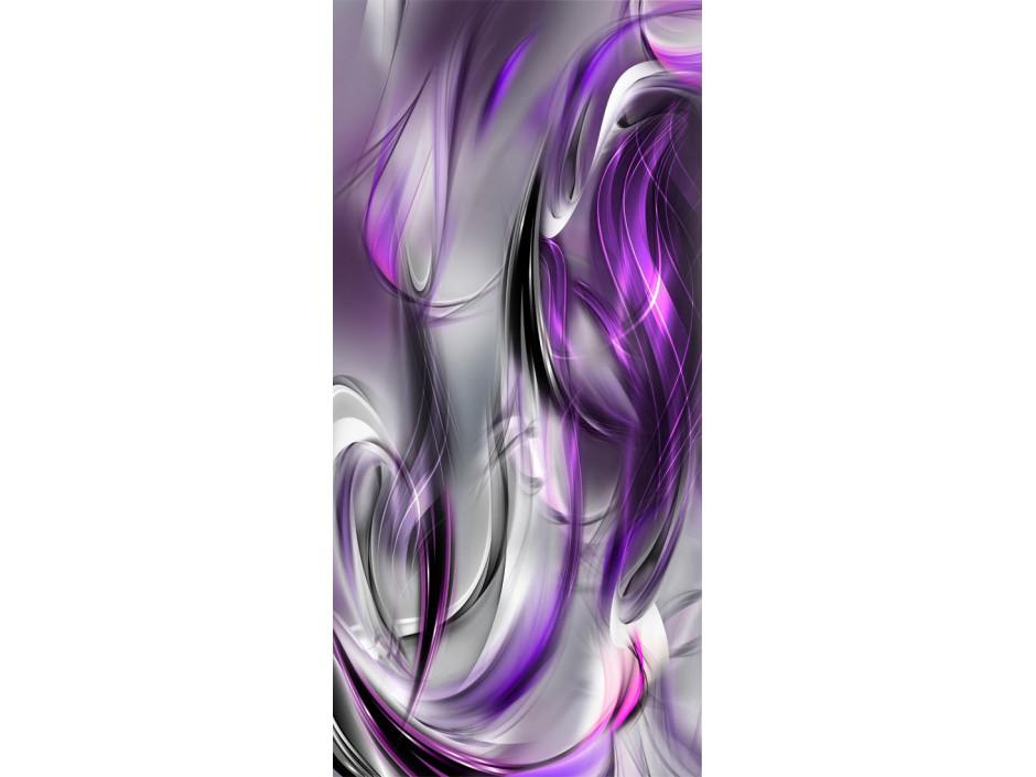 Papierpeint pour porte  Photo wallpaper – Purple abstraction I