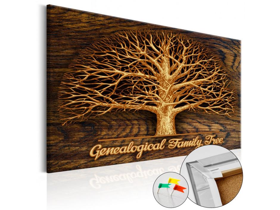 Tableau en liège Family Tree [Corkboard]