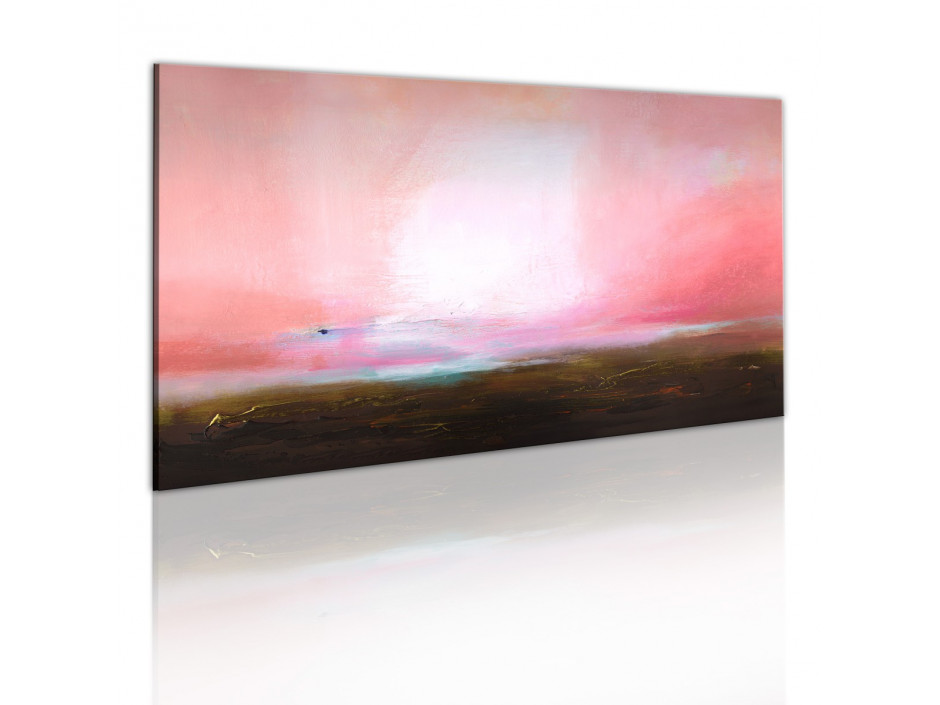 Tableau peint à la main  Horizon lointain