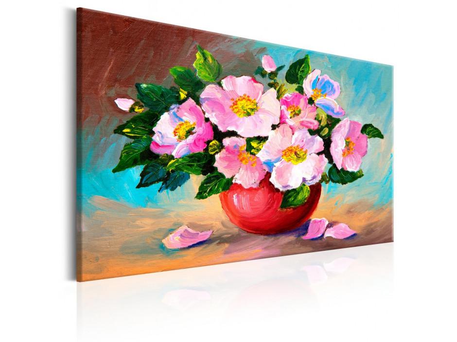 Tableau peint à la main  Spring Bunch