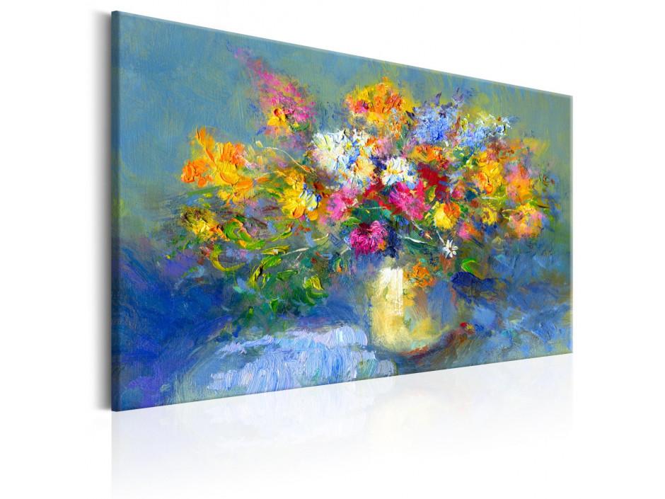 Tableau peint à la main   Autumn Bouquet
