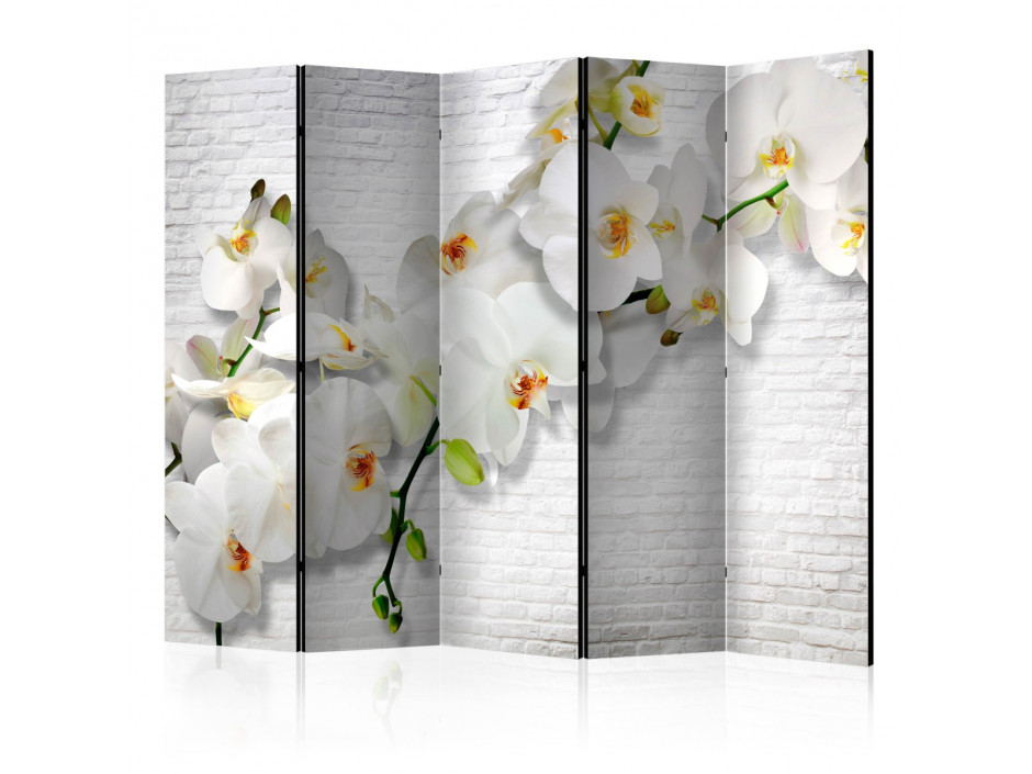 Paravent 5 volets The Urban Orchid II [Room Dividers]