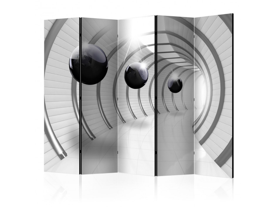 Paravent 5 volets Futuristic Tunnel II [Room Dividers]