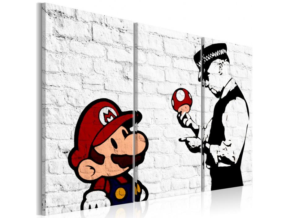 Tableau  Mario Bros (Banksy)